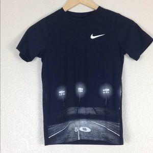Nike Dri -Fit Tee Boys Youth Shirt Black Sz Small
